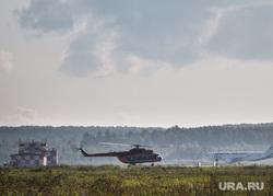 Очередной споттинг в Кольцово. Екатеринбург, вертолет, облако
