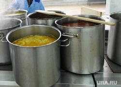 Автомобильное училище. Челябинск., кастрюли, столовая, суп, общепит, еда, кухня, повар