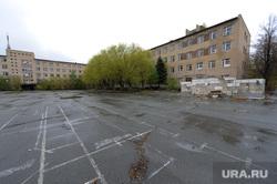 Танковое училище. Челябинск., плац
