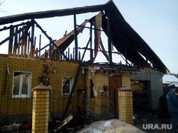 Верхняя Пышма у семьи с ребенком-аутистом сожгли дом
