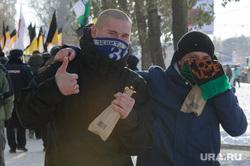 День народного единства: крестный ход и русский марш. Екатеринбург