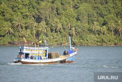 Таиланд, корабли, море берег
