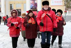 Митинг КПРФ Курган, кислицын василий