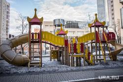 Лошагинский гараж. Екатеринбург, детская площадка, детская горка