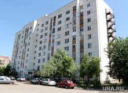 Жилой дом Карельцева 119. Курган, многоэтажка, жилой дом, улица каральцева119