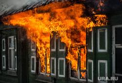 Пожар в Первоуральске