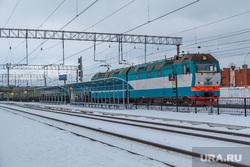 Рабочая поездка по городу №4. Екатеринбург, железнодорожная платформа, железная дорога, электровоз