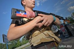 Краматорск. Бомбоубежище. Ополченец. Украина, солдат, автомат, донецкая народная республика, днр, ополченец