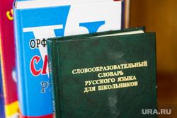 Бадина в школе №21. Нижневартовск., книги, словарь