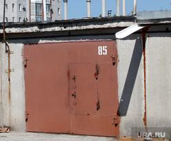 Жилой дом Карельцева 119. Курган, гаражи