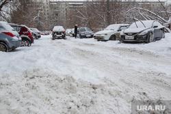 Снег и его уборка. Тюмень, снег