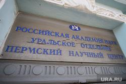 Пермь. Клипарт., пермский научный центр, уро ран, табличка