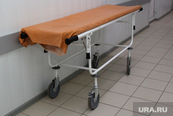 Выездная комиссия гордумы во 2 городскую больницу Курган, каталка, морг, больница, паталого-анатомическое отделение