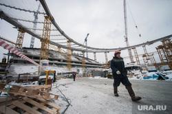 Реконструкция Центрального стадиона. Екатеринбург, строительная площадка, центральный стадион, екатеринбург арена, рабочий, реконструкция