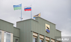 Администрация Сургут, флаги, сургут