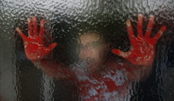 Открытая лицензия на 04.08.2015. Нож. Кровь., нож, кровь, убийство, криминал, уголовное, руки в крови