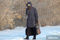 Зимний Курган., снег, холод, зима, мороз