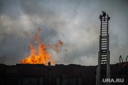 Пожар на Уралмаше. Екатеринбург, пожар, огонь