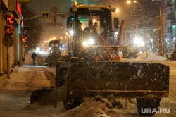 Ночная уборка улиц от снега. Екатеринбург, уборка снега, улица куйбышева, чистка дороги, коммунальные службы