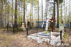 Стройка на кладбище. Нижневартовск., могилы, кладбище