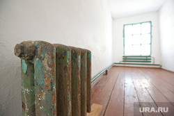 Музей тюрьмы.  Пермь-36, батарея, радиатор