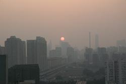 Китай. Открытая лицензия на 19.08.2015, смог, китай