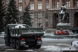 Снег  в Екатеринбурге. Уборка города., штаб цво