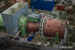 Строительство Нижне-туринская ГРЭС., строительство, турбина, нижнетуринская грэс