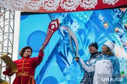 Эстафета паралимпийского огня. Тюмень. 28.02.2014, паралимпийский факел