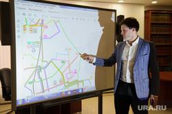 Пресс-конференция по новой транспортной схеме. Екатеринбург