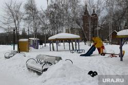 Круглый стол - горсад Курган, городской сад