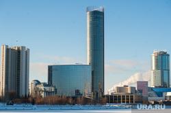 Виды Екатеринбурга, зима, башня исеть, хаятт, театр драмы, бц президент, ельцин центр, екатеринбург-сити, правительство со
