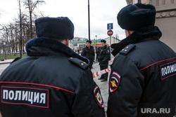 Последствия взрыва у Никитских ворот, на Покровке 19. Москва., полиция