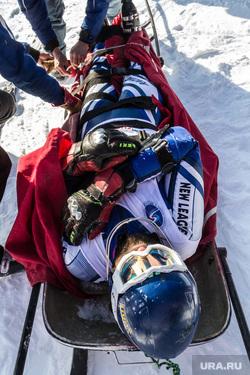 Тренировка экстренных служб ГЛЦ «Металлург-Магнитогорск». «Скорость ветра 2015», некрасов игорь, первая помощь, спортсмен, санки, горнолыжник