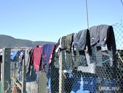 Шри-Ланка, сушится одежда, сушка белья