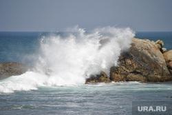 Шри-Ланка, море, море берег, прибой