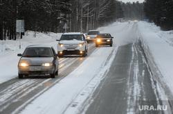 Зимняя дорога. Челябинск, зима, дорога, обгон