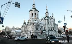 Здания. Тюмень, город тюмень, спасская церковь