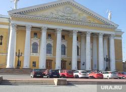 Челябинск. Кировка, оперный театр, город челябинск
