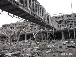 ОБСЕ в аэропорту Донецка. ДНР. Украина, аэропорт донецка, разрушения