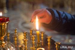 Храм Воскресения Христова. Ханты-Мансийск., свеча, храм, молитва, церковь, вера, христианство, православие, религия