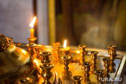 Храм Воскресения Христова. Ханты-Мансийск., свечи, храм, церковь, вера, христианство, православие, религия