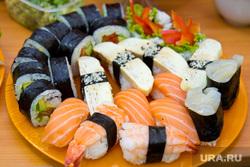 Клипарт. Санкт-Петербург, еда, суши, азиатская кухня