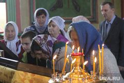 Крестный ход в честь праздника обретения Мощей Петра и Февронии Курган, молебен