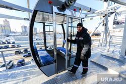 Новое колесо обозрения в Челябинске около КРК Мегаполис. Челябинск, кабинка колеса обозрения