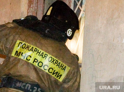 Пожар в нежилом доме Советская 136 Курган