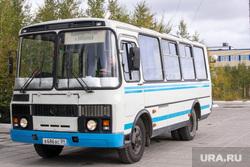 Ханымей-Муравленко, 4 сентября,рабочая поездка Кобылкина, автобус, паз