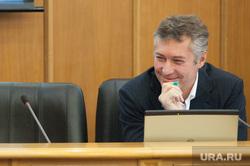 Первое заседание Екатеринбургской городской Думы, ройзман евгений, улыбка