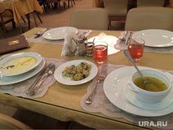 Меню столовой Госдумы Челябинск, накрытый стол, обед, столовая госдумы, еда