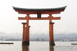 Открытая лицензия от 16.12.10.2016. , япония, большая тории миядзима